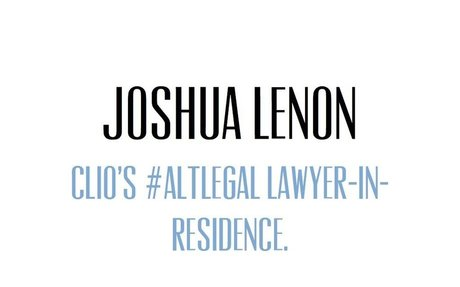 Joshua Lenon- Altlegal: What Law Students Can Learn From the ALT-ACS PHD Movement
