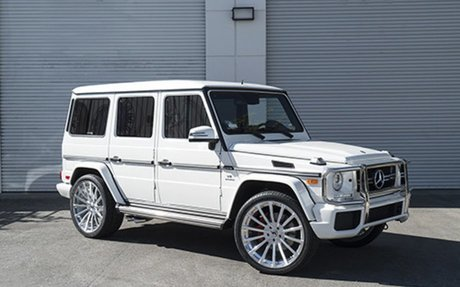 This is my dream car it is $122,400 and its a G Wagon SUV