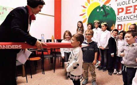 Pasowanie na ucznia w Szkole ANDERS w Marche