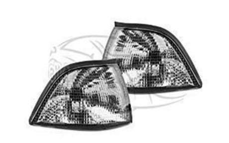 BMW E36 1991 - 1998 COUPE & CONVERTIBLE PAIR FRONT SMOKED INDICATORS: Amazon.co.uk: Car &