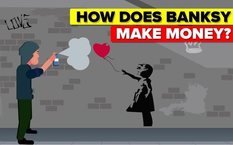 How Does Banksy Make Money?