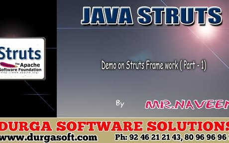 Demo on Struts Frame work ( Part  - 1)  by Naveen