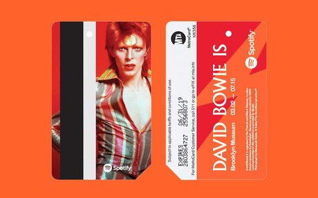 David Bowie MetroCards Are Coming to a Subway Near You