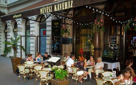 Listing page: etterem.hu: Művész Kávéház - Budapest - Virtual tour