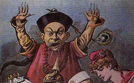 8) Chinese Anti-imperialism Propaganda Cartoon