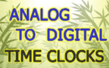 Analog to Digital Time Clocks - Telling Time Game