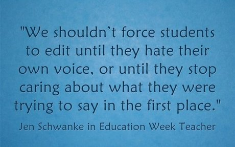 Response: We Need to 'Slow Down' When Teaching Writing