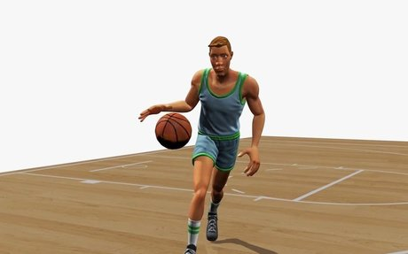 Watch a sporty AI teach itself how to dribble better than you can