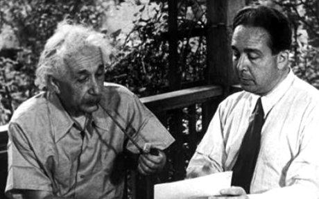 Einstein Talks To Roosevelt About Atomic Bomb Opportunity
