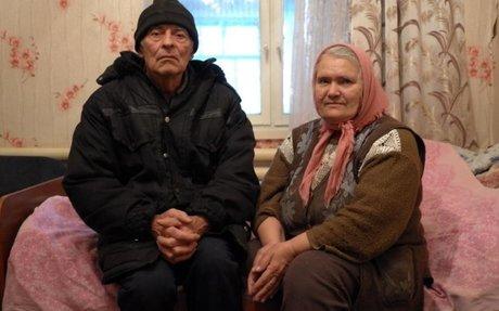 Ukraine conflict hits home for elderly couple