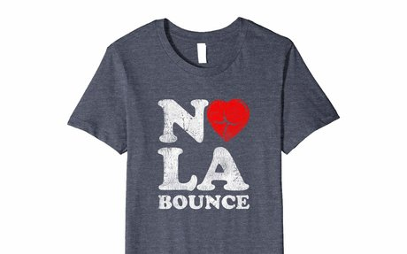 Nola Bounce Puckered Booty Heart Premium Classic T-shirt