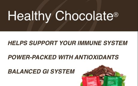 Beyond Healthy Chocolate® a healthier happier you!