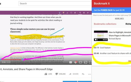 Bookmark It: A Tool for Adding Bookmarks to a Video's Timline