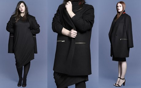 Plus Size Fashion Find of The Day: Marlett Oversized Coat From Universal Standard
