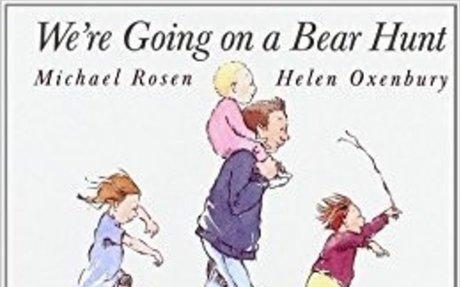 We're Going on a Bear Hunt; Helen Oxenbu