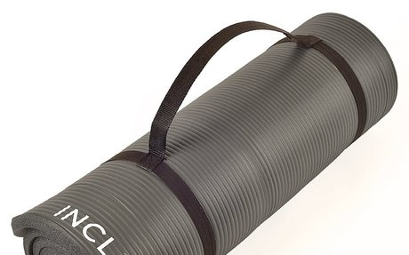 Incline Extra Thick and Long Comfort Foam Yoga Mat