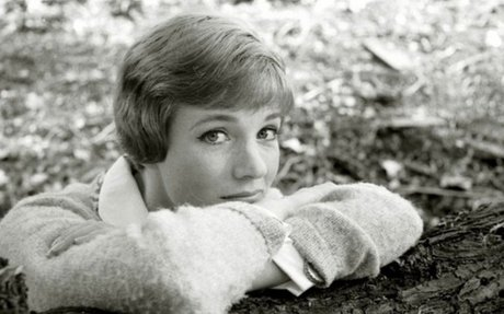 Photograph of Young Julie Andrews