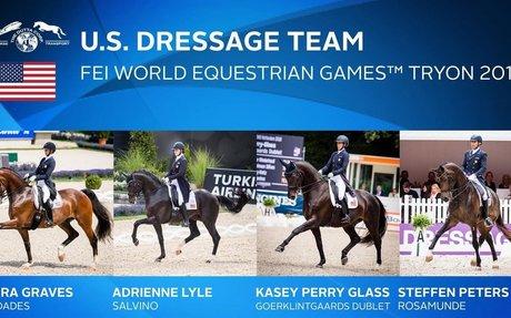 Dressage: US Equestrian Names Dutta Corp. U.S. Team for WEG2018