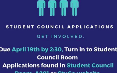 Student Council Applications
