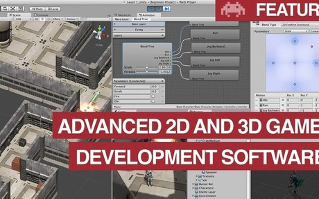Advanced 2D and 3D Game Development Software (For Budding Game Designers)
