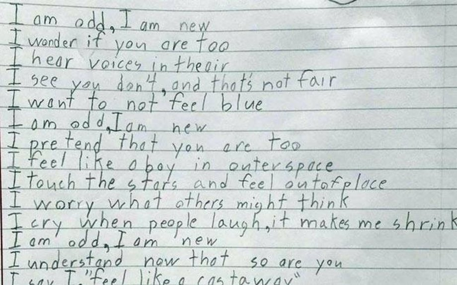 10-Year-Old's Poem