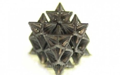 Researchers produce 3D-printed structures which shrink when heated