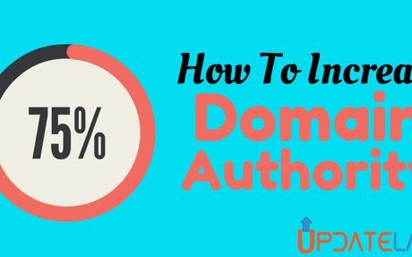How To Increase Domain Authority Of Your Website