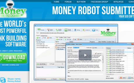 Money Robot Submitter is the most powerful SEO automation tool designed to publish your...