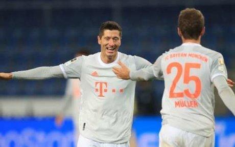 Show Lewandowski-Müller met smet