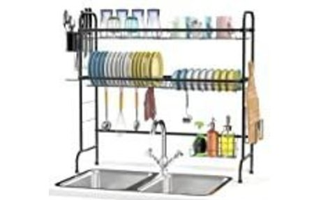 Dish Drying Rack Counter Space Saver