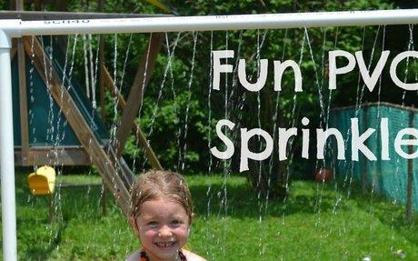 Fun PVC Sprinkler