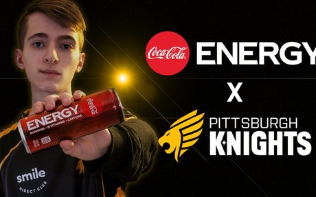 Pittsburgh Knights and Coca-Cola partner for Coke Energy