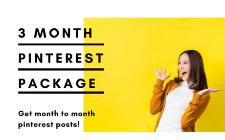 3 Month Ultimate Pinterest Done-For-You Pack