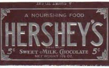 9. Hershey Bar