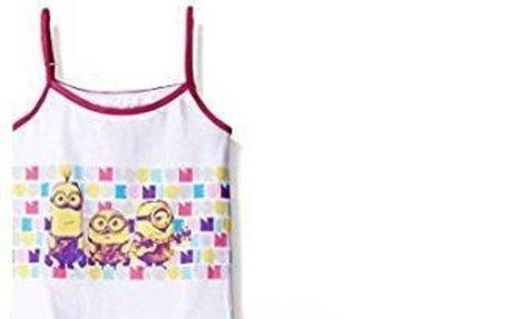 Amazon.com: Universal Girls' Minions 3-Pack Underwear and Tank Set: Clothing