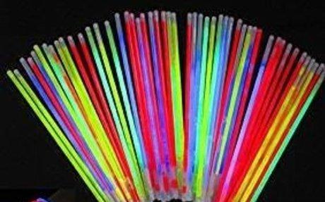 Amazon.com: Glowsticks, Vivii 100 Light up Toys Glow Stick Bracelets Mixed Colors Party Fa