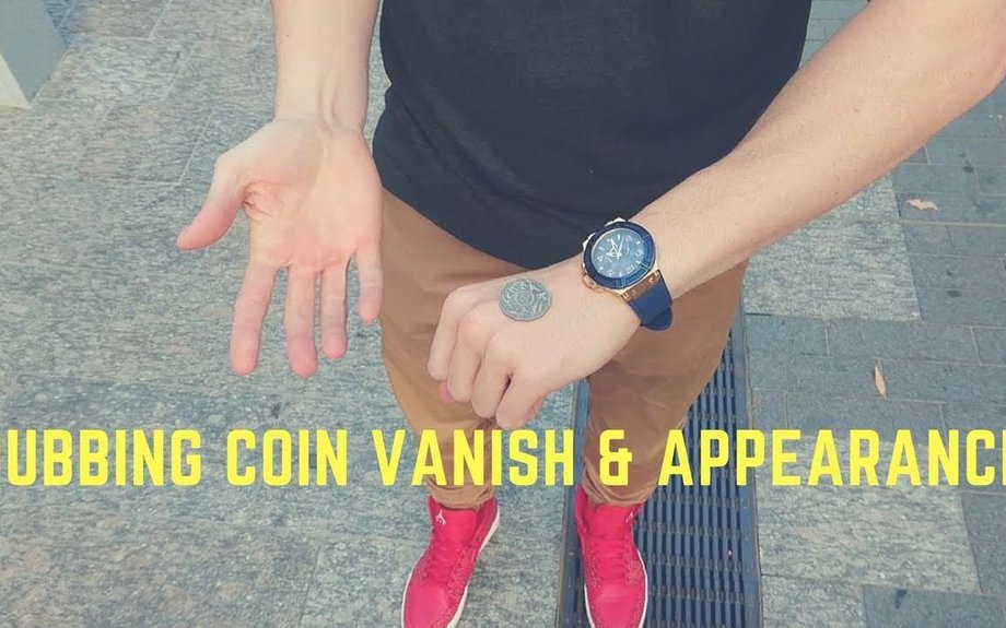Free Magic Tutorial | The Rub Vanish | Easy Coin Magic