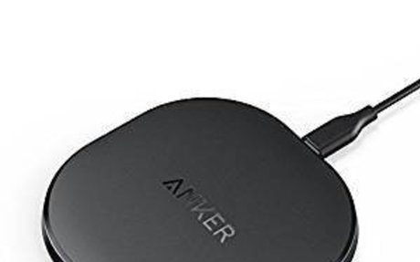 Anker Wireless Charger Charging Pad for iPhone 8 / 8 Plus, iPhone X, Nexus 5 / 6 / 7, and