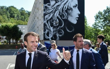 Emmanuel Macron Picks a Street Artist to Render Marianne, the French Symbol of Liberty, fo