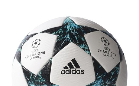 Amazon.com : Adidas Finale 17 Omb Match Ball 5 White/Black : Sports & Outdoors