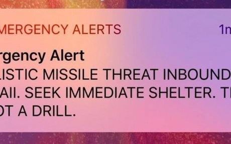 No Accountability for Hawaii Nuke Alert Mistake
