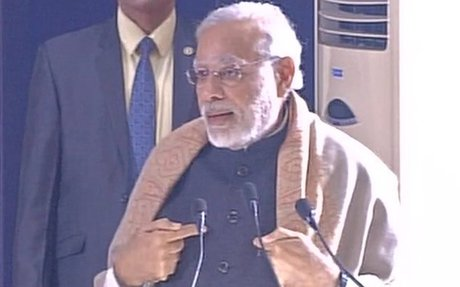 PM Modi takes dig at RaGa; says less possibility of an 'earthquake' occurring