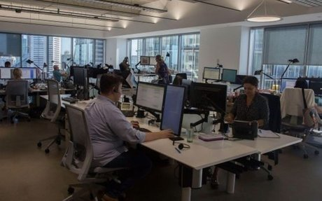 WORK >> Open-plan offices are bad for workers and bosses