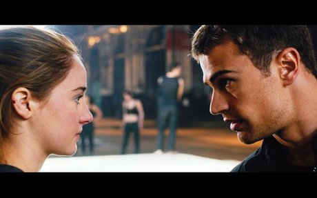 #2 Divergent because of the moral to embrace your uniqueness.