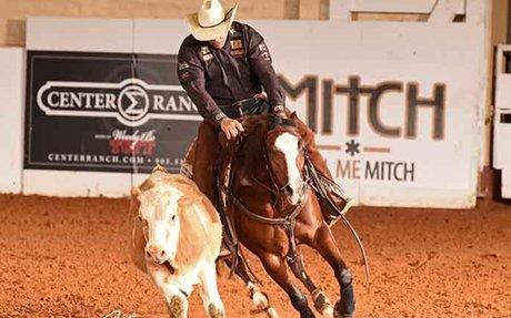 AQHA: Ima Smart Catt and Brad Lund Top Intermediate Open Reined Cow Horse