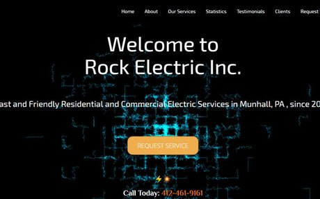 Rock Electric Inc. | Electric Services Munhall, PA