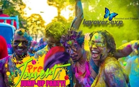 Port of Spain:Predawn Annual Carnival all in-clu costume of Paint Street Party 2019 - Trin