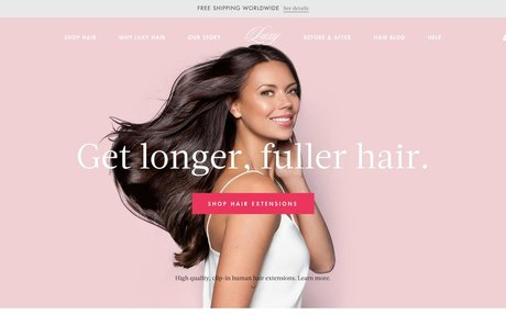 How Luxy Hair Became A Top Ecommerce Hair Extension Brand - Word-of-Mouth and Referral Mar