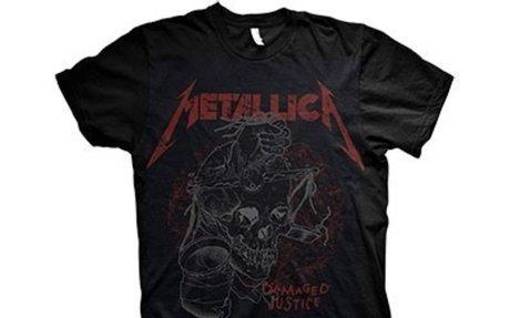 Metallica - Damage Justice Skull póló - RockStore.hu - Rockzenei kiadványok, pólók, pulóve