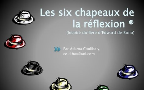 Les six chapeaux de la réflexion du Dr Edward de Bono